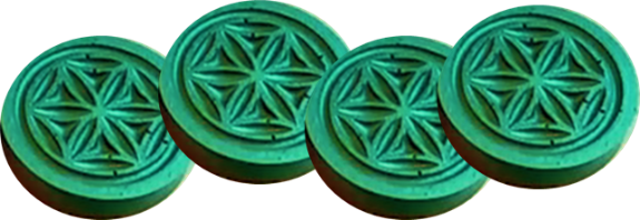 four-garden-pucks Orgonite Crazy Cyber Monday Sale 64% off!