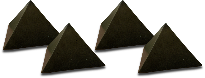 four-pyramids Orgonite Crazy Cyber Monday Sale 64% off!