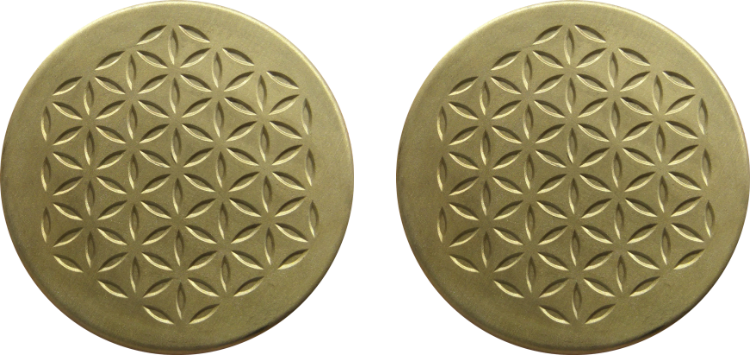 two-bronze-plates Orgonite Crazy Cyber Monday Sale 64% off!